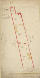 [Plan of property on Budge Row] 120 C